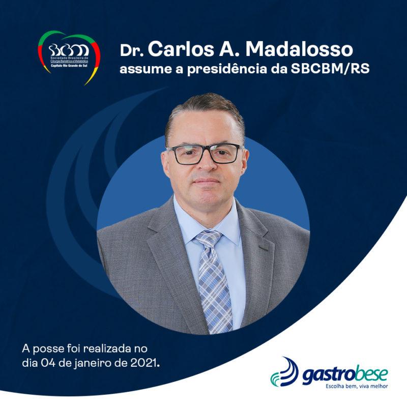 Médico da Gastrobese é o novo presidente da SBCBM